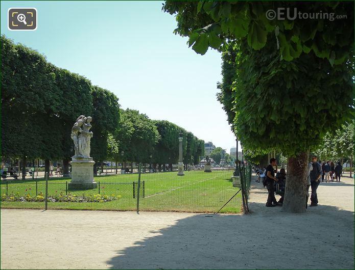 Statue Le Jour Jardin Marco Polo