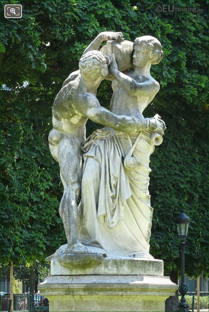 Le Jour Statue By Jean Joseph Perraud