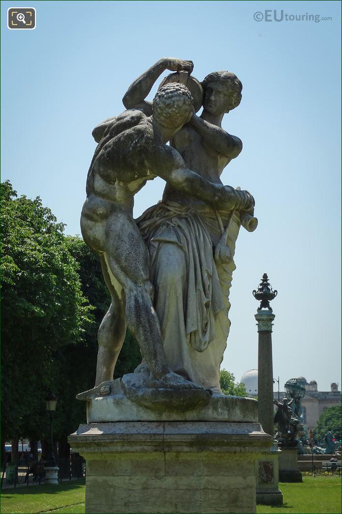 Statue Le Jour 6th Arrondissement Paris