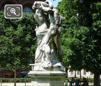 Jardin Marco Polo Statue Le Jour