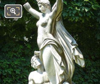 l'Aurore Statue By Francois Jouffroy