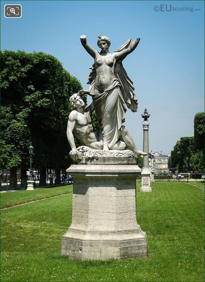 l'Aurore Statue Jardin Des Grands Explorateurs