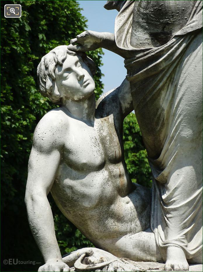 Man On l'Aurore Statue Paris