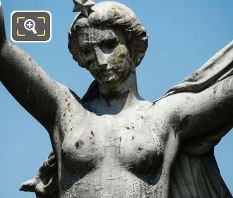 Woman On l'Aurore Statue Paris