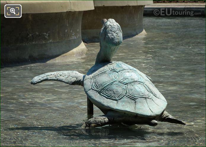 Turtle Statue By Emmanuel Fremiet