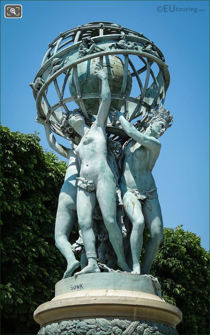 Jardin Marco Polo Celestial Globe