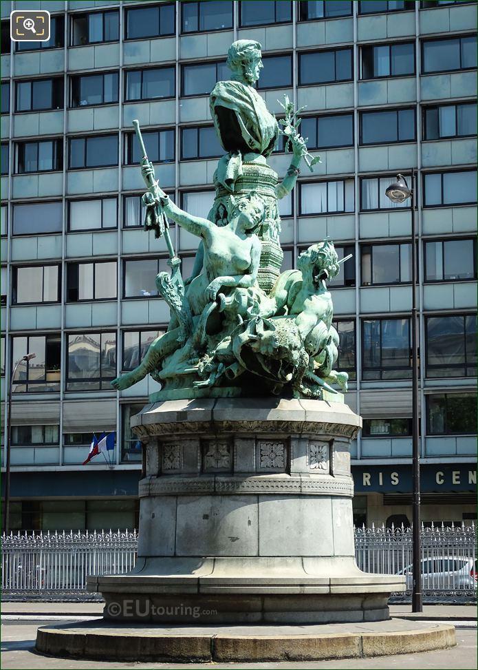 1898 Francois Garnier Monument By Denys Puech