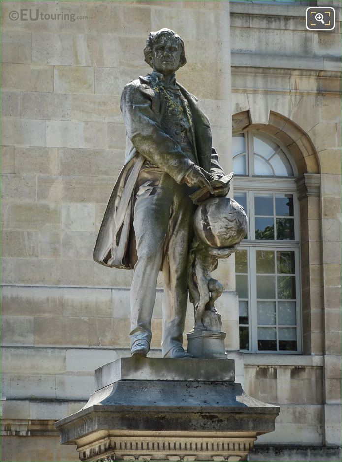 Urbain Le Verrier Statue By Henri Chapu