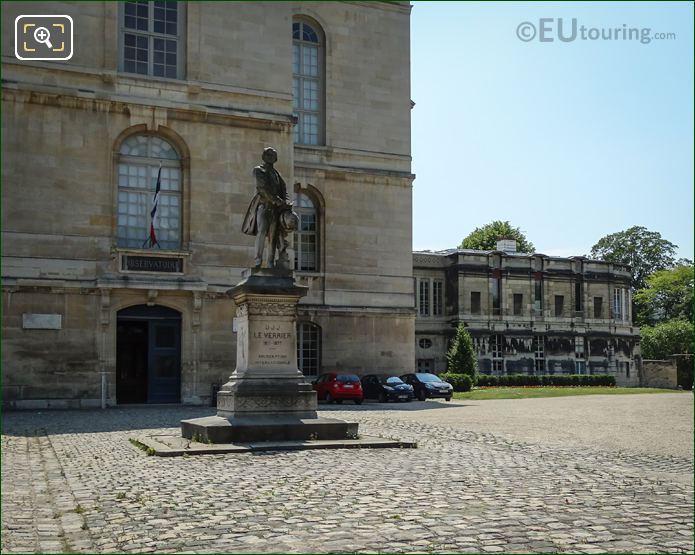Observatoire De Paris Statue Urbain J J Le Verrier