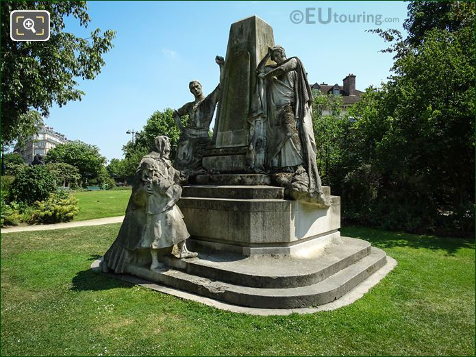 Ludovic Trarieux Monument By Jean Boucher