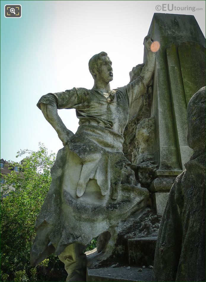 LHS Statue On Ludovic Trarieux Monument