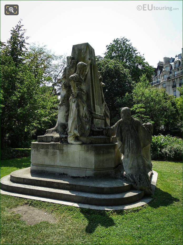 Ludovic Trarieux Monument Front View
