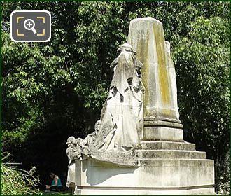 Ludovic Trarieux Monument In Square Claude-Nicolas Ledoux