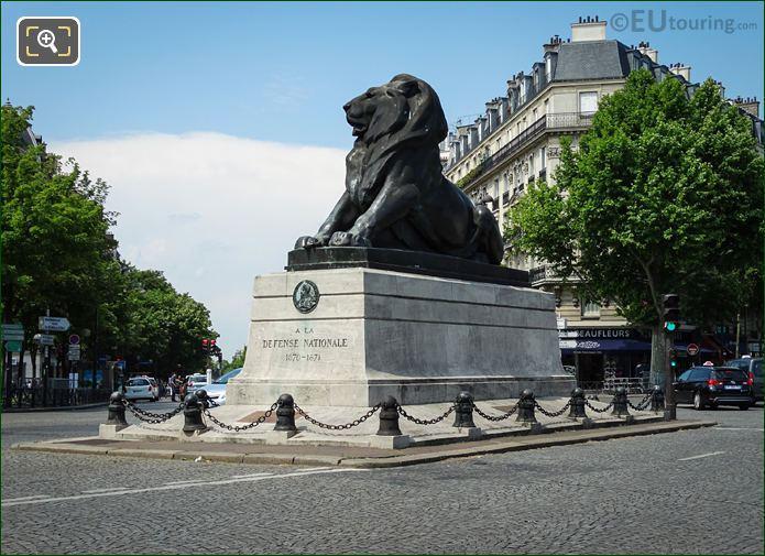 Place Denfert-Rochereau Lion Of Belfort