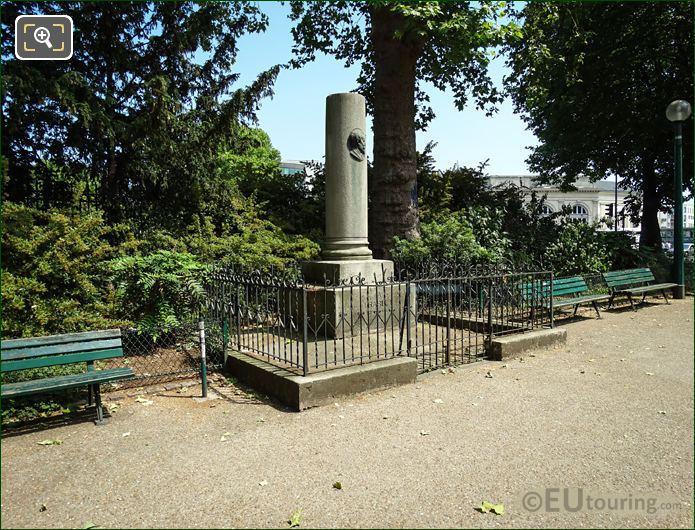 N T Charlet Monument 14th Arrondissement Paris