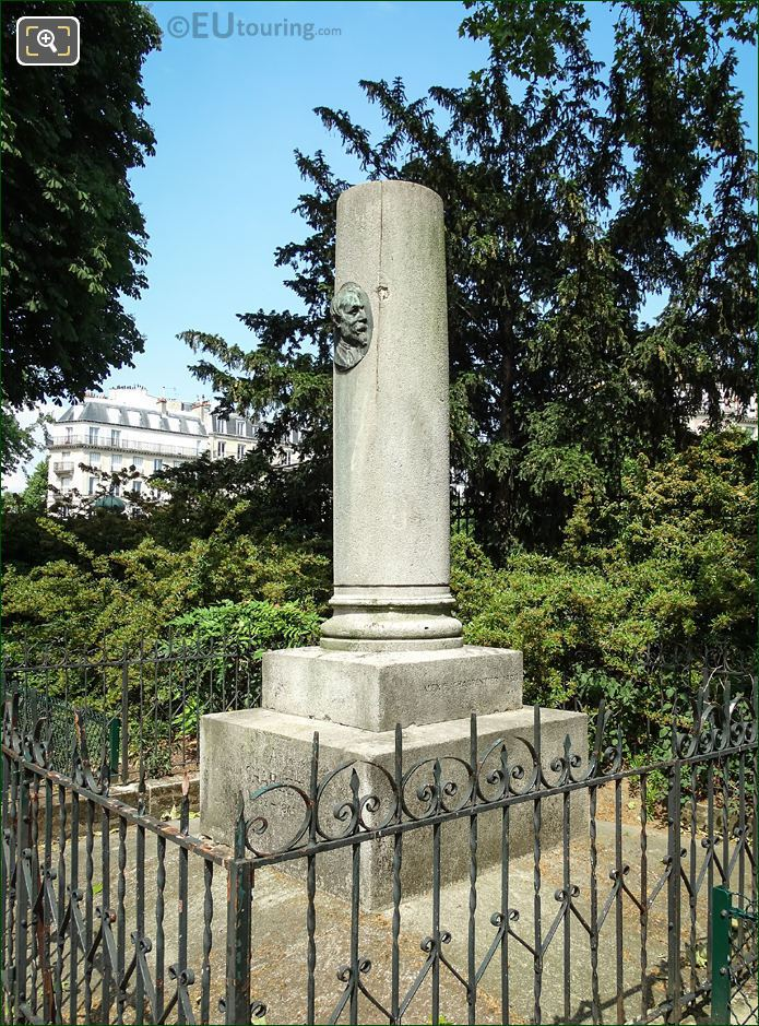 Square Abbe Migne N T Charlet Monument