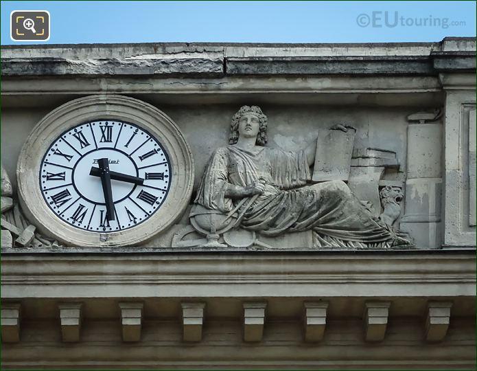 RH Female Allegorical Statues Gare Denfert-Rochereau Facade