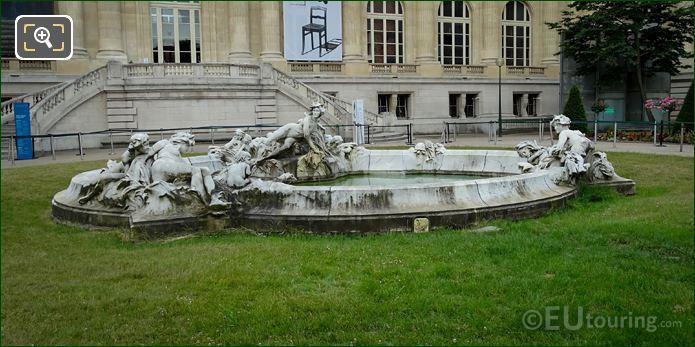 Fontaine Miroir D'eau Statues By Francois Raoul Larche