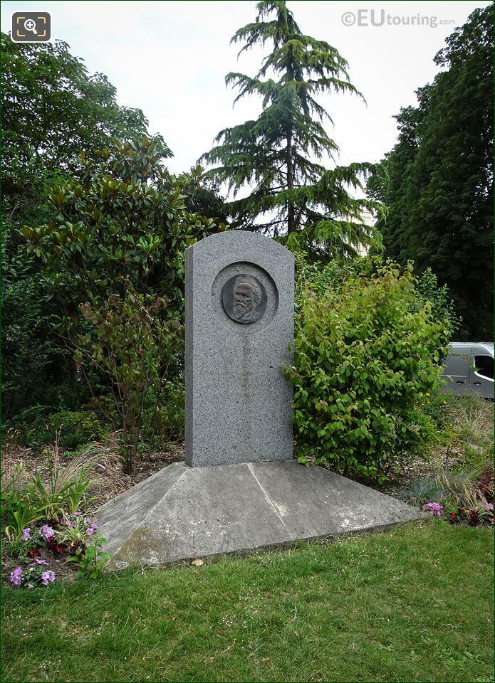 Jean Baptiste Perrin Monument By J Hebert-Coeffin
