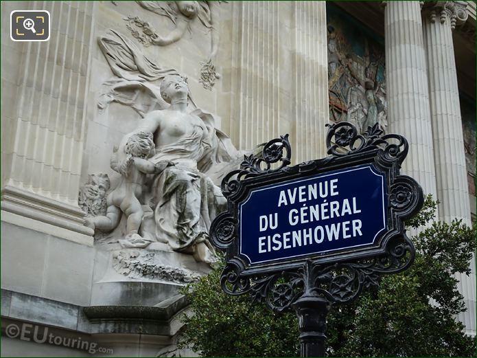 Music Statue On Grand Palais