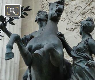 Bronze Statue L Inspiration Guidee Par La Sagesse