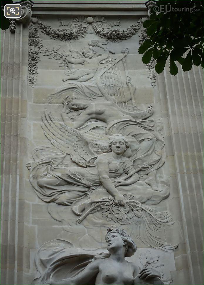 Bas Relief Grand Palais Western Facade
