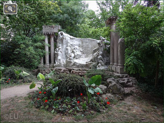 Le Reve Du Poete Monument To Alfred De Musset