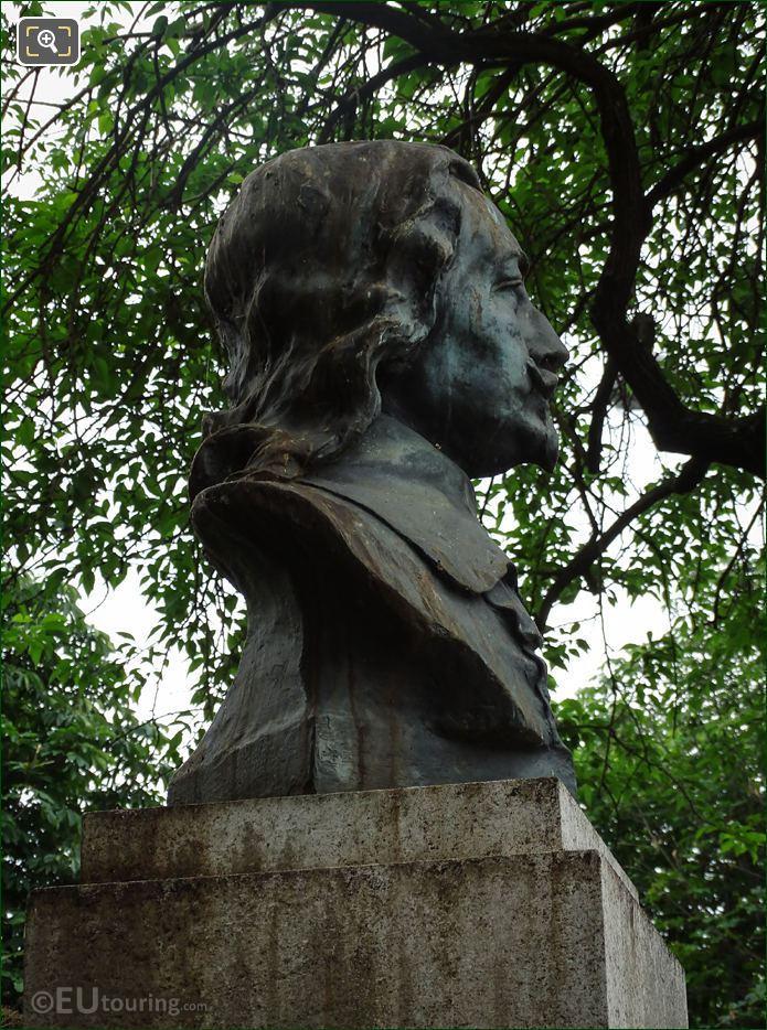 Bust Statue Samuel Champlain By Artist Alfred Laliberte