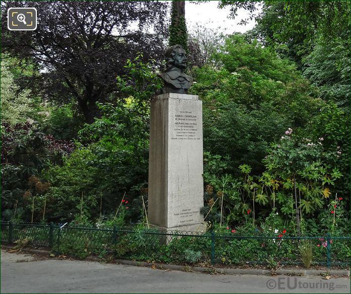 Samuel Champlain Monument Avenue Franklin Delano Roosevelt Paris
