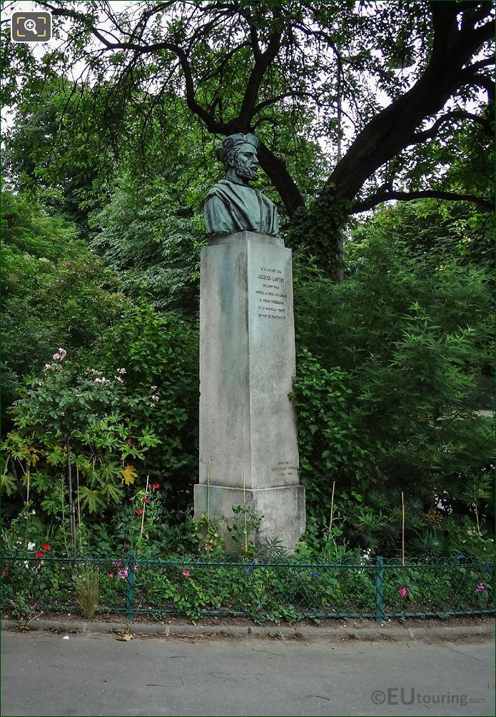 Jacques Cartier Monument In Paris