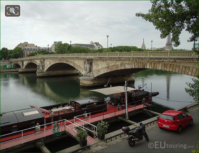 Sculptures Eastern Side Pont Des Invalides