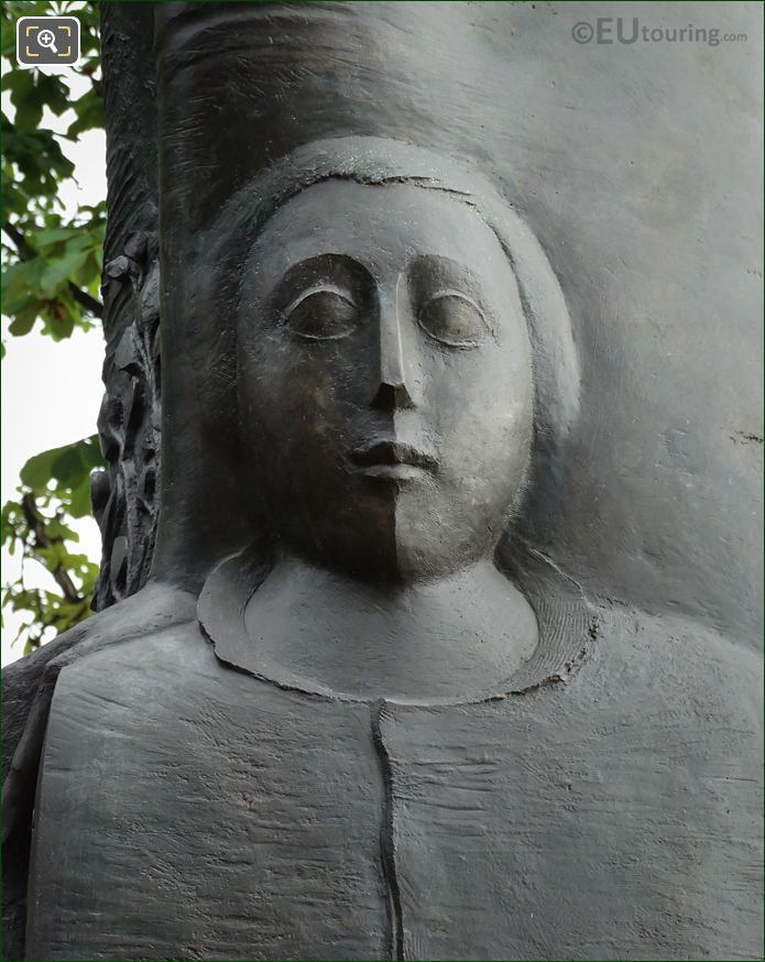 Young Child Sculpture On Monument To Komitas