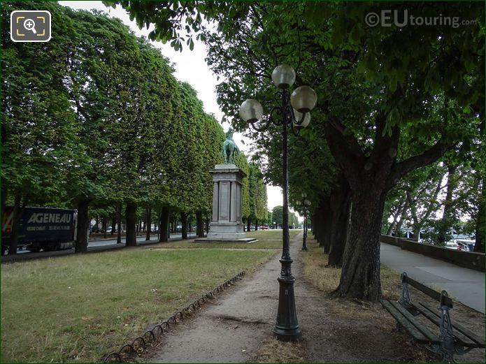 Lafayette Monument Port Des Champs-Elysees