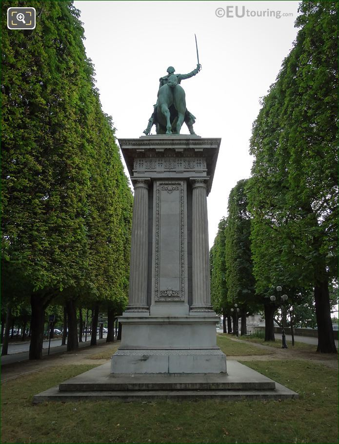 Monument To Lafayette Back View