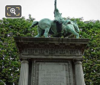 Lafayette Monument Southside