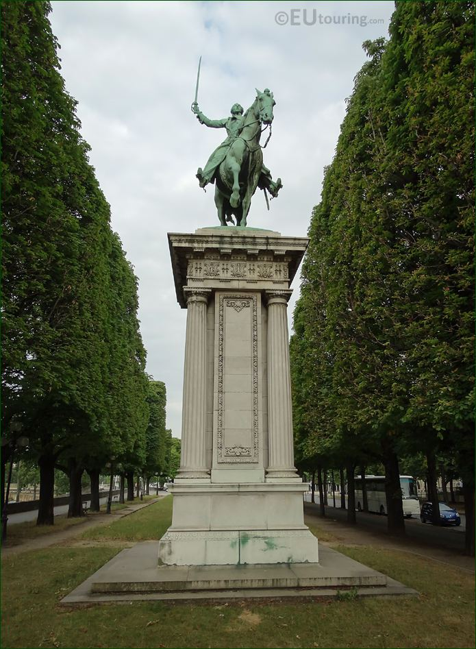 Lafayette Monument 8th Arrondissement Paris
