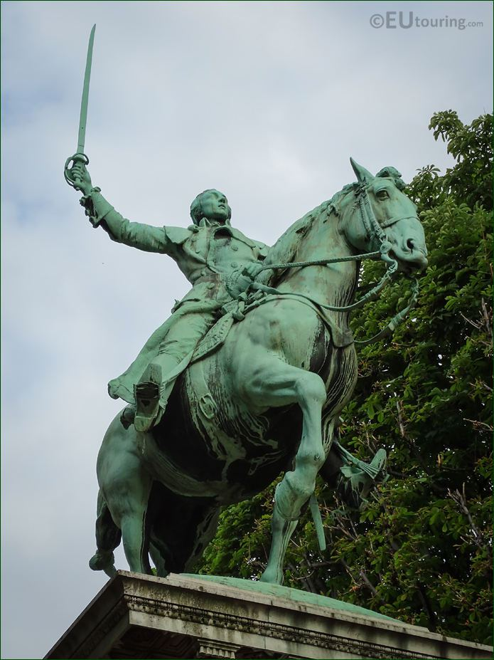 Equestrian Statue Lafayette By Paul W Bartlett