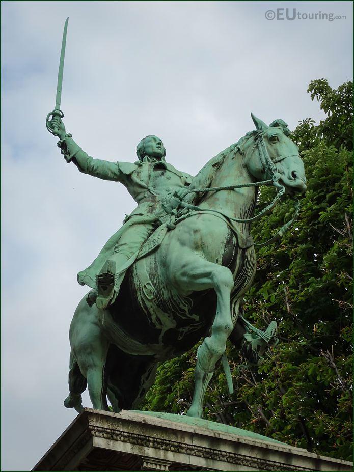 Equestrian Statue Lafayette By Paul W Bartlett