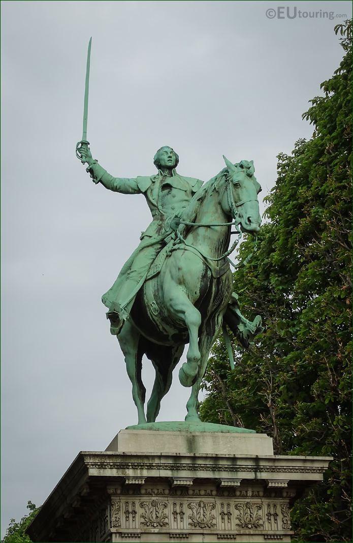 Equestrian Statue Lafayette Paris