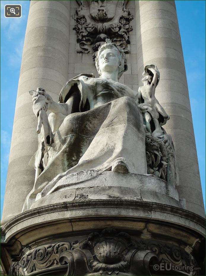La France Contemporaine On Alexandre III Bridge