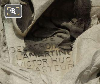 Plaque On La France Contemporaine Statue