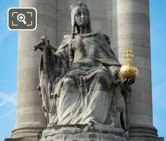 France De Charlemagne Close Up Photo
