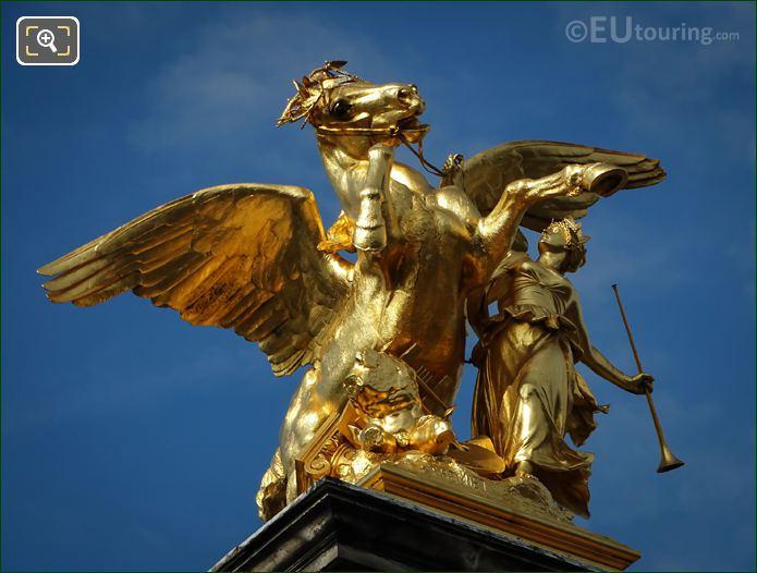 Renommee Des Arts Statue By Emmanuel Fremiet