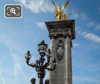 Renommee Du Commerce Statue Pont Alexandre III