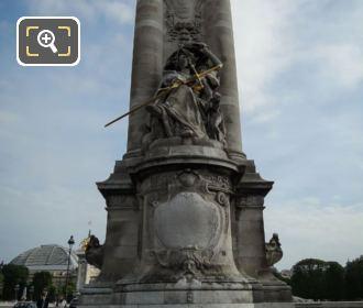 France De La Renaissance Statue NE Column