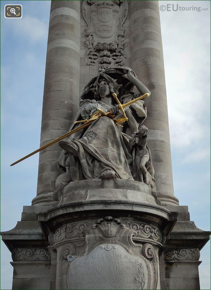 France De La Renaissance Statue By Jules Coutan