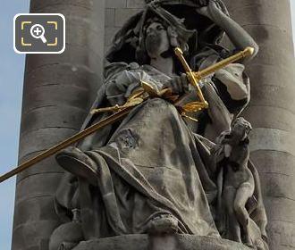 Pont Alexandre III Statue France De La Renaissance