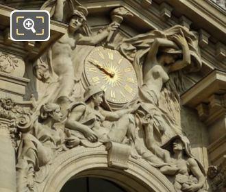 Petit Palais Le Jour, La Nuit, Les Trois Parques Sculpture