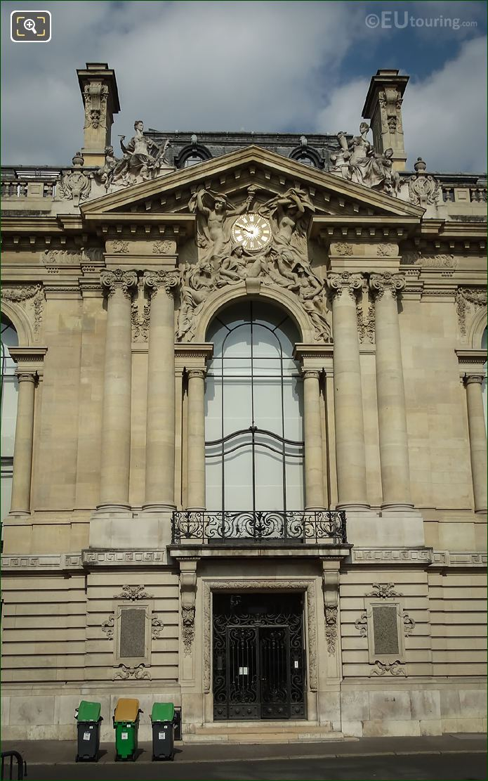Hector Lemaire Sculpture Petit Palais Eastern Facade