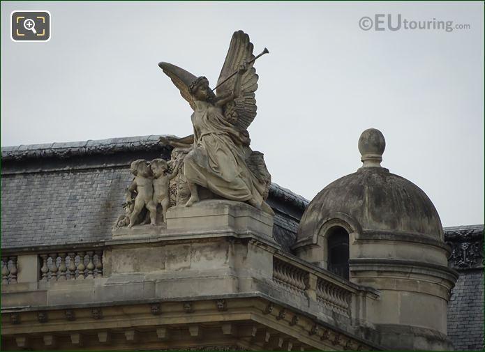 La Paix Statue By Jean-Marie Bienaime Bonnassieux